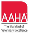 Proud accredited member of the American Animal Hospital Association